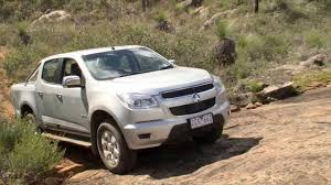Holden Colorado Crew Cab LTZ 2013 - Track Test - YouTube