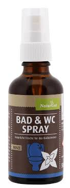 bad und toiletten spray frisches örtchen spray minze 50 ml