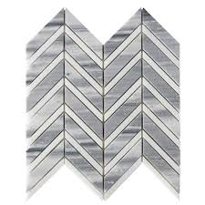 Lowes Canada White Subway Tile by Bestview White And Grey Polished Chevron Mosaic Natural Stone