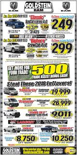 RAM Truck Specials | Goldstein Chrysler Jeep Dodge RAM Specials ... Ram Trucks In Louisville Oxmoor Chrysler Dodge Jeep You Can Get A New For Crazy Cheap Because Not Enough People Are Truck Specials Denver Center 104th 2018 Sales And Rebates Performance Cdjr Of Clinton Car Cape May Court House Model Research Gilroy Ca South County Ram Grapevine Dealer Near Fort Worth Landmark Atlanta Lease Suv Sauk City On Allnew 2019 1500 Canada World Incentives