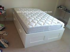 ikea trysil bed frame assembled at the marylander aparment in john