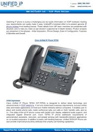 Cisco Unified IP Phone 7975G Review By Unified IP - Issuu Clearone Max 860158500 Wireless Conference Telephone And Base Cisco Cp7935 Ip Phone 2106612001 Astock Ebay 7936 Buy Business Telephones Systems Unified 8831 Lcd Black Cp8831base Spa 502g 1line 7925g 7925gex And 7926g User 7942 Brand New Cisco 7937 Hold Transfer Youtube Micwr0776 Voip Microphone 8831nr Guide For Max Analog 8845