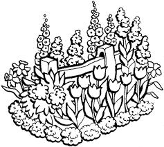 Amazing Flowers Printable Coloring Pages 23