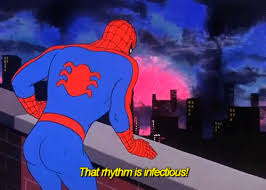 That rhythm is infectious 60 s Spider Man