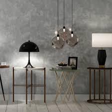 vintage solide grau zement vlies tapete für wände wohnzimmer