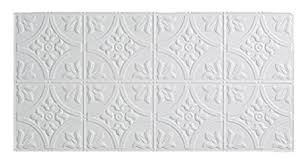 Fasade Thermoplastic Ceiling Tiles by Amazon Com Fasade Easy Installation Traditional 2 Matte White