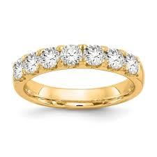 Shop 14k White Gold 58ctw TDW White Diamond 2 Row Double Prong