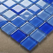 sales blue swimming pool wall tiles dggm062 glass backsplash