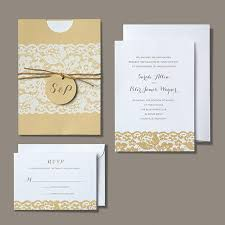 Rustic Invitation By Brides Wedding Collection