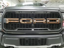 Subdued American Flag Colored Outline Gen 2 Grill Set | Raptor ...