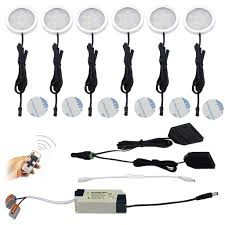 hardwired led puck light bulbs kit cabinet aiboo