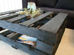 how to make a coffee table out of pallets youtube