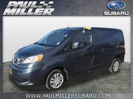 2015 Nissan NV Gasoline With Bucket Seats
