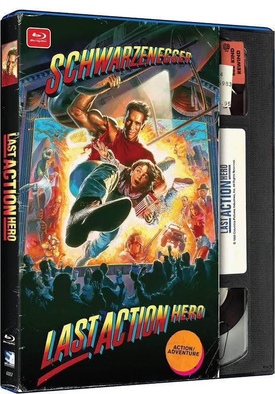 Last Action Hero - Retro VHS Packaging - BLU-RAY