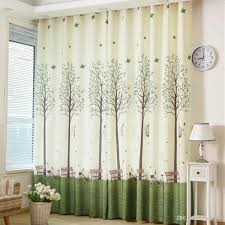 White Sheer Voile Curtains by Korean Garden Curtains High Grade Semi Shade Cortinas Curtains For