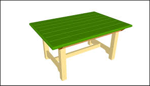 Outdoor Table Plans Free by Wooden Patio Table Plans Free Patios Home Decorating Ideas