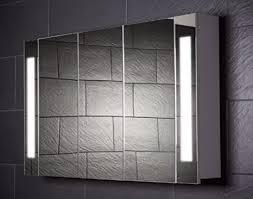 galdem spiegelschrank curve120 großer badezimmerschrank 120cm 3 türig mit trendiger beleuchtung t5 leuchtstoffle softclose