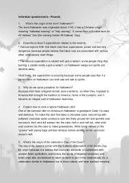 Origination Of Halloween Tradition by Ricardo