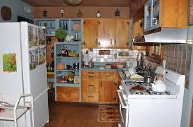 My Moms Country Decor 50s Ranch House Kitchen
