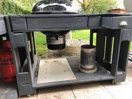 weber grill outdoor küche