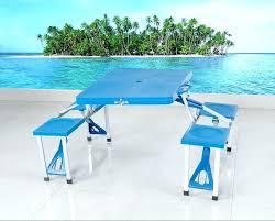 table pliante avec chaises pas cher abs table pliante de cing