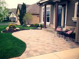 Patio Paver Ideas Pinterest by Garden Design Garden Design With Amazing Front Yard Patio Small