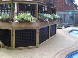 mer enn 25 bra ideer om lattice deck på pinterest veranda