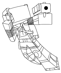 Minecraft Skin Coloring Pages And