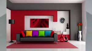 wohnzimmer ideen rot haus ideen