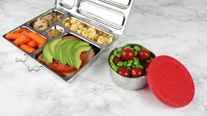 Our New Snack Containers Have Deep Stainless Cups And Easy To Open Lids Hold A Variety Of Snacks