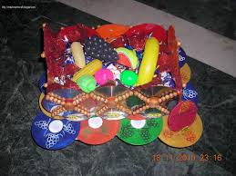 Anu Art Crafts Best Out Waste Fruit Basket Side