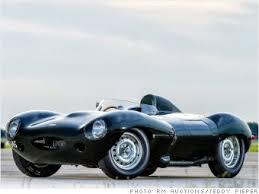 1955 Jaguar D Type Coolest high dollar cars for sale at Pebble