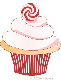January Cupcake Clipart