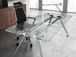 bureau direction verre bureau en verre design