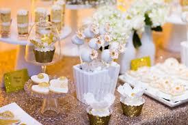 Elegant White And Gold Dessert Table Mondeliceblog