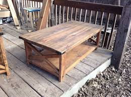 Elegant Rustic End Tables And Coffee Table With Regard To Attractive Residence Designs