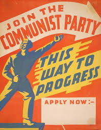 Communist Party Poster 1940s