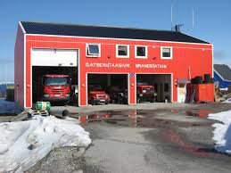 Fire Station In Upernavik, Greenland ☆。☆。JpM ENTERTAINMENT ...