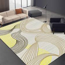 1pcs nordic abstrakte wohnzimmer boden matte schlafzimmer teppich büro eingang tür matte 3d gedruckt nacht decke nicht absorbent