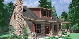Large One Story Homes by Bungalow House Plans 1 5 Story House Plans 10128