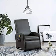 tidyard massagesessel elektrisch mit wärmefunktion rollen fernsehsessel liegefunktion relaxsessel tv sessel chair relaxliege liegesessel