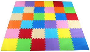 balancefrom puzzle exercise play mat with 36 foam