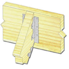 usp structural connectors 2 x 6 8 light slope joist hanger at