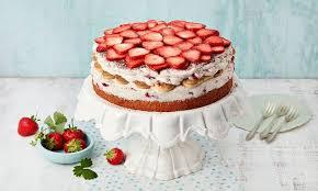 erdbeer tiramisu torte