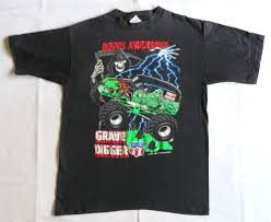 VINTAGE T SHIRT 90's Grave Digger 1990's MONSTER TRUCK Hot Rod ... The Blot Says Hundreds X Bigfoot Original Monster Truck Shirts That Go Little Boys Big Red Tshirt Jam Grave Digger Uniform Black Tshirt Tvs Toy Box Monster Jam 4 5 6 7 Tee Shirt Top Grave Digger El Toro Check Out Our Brand New Crew Shirts From Dirt Blaze And Birthday Shirt Raglan Kids Tshirts Fine Art America Truck T Lot Of 8 Adult Large Shirts Look Out Madusa Pink Tutu Dennis Anderson 20th Anniversary Team News Page 3 Of Crushstation Monstah Lobstah Truckjam Birtday Party Monogram