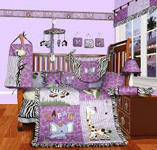 Nursery Crib Bedding Sets U003e by Purple Crib Bedding Teal And Purple Crib Bedding Image Is
