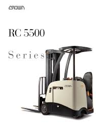 Forklift RC 5500 Brochure - CROWN - PDF Catalogue | Technical ... Various Of Crown Bt Raymond Reach Truck From 5000 Youtube Asho Designs Full Cabin For C5 Gas Forklift With Unrivalled Ergonomics And Ces 20459 20wrtt Walkie Coronado Equipment Sales Narrowaisle Rr 5200 Series User Manual 2006 Rd 5225 30 Counterbalanced Forklifts On Site Forklift Cerfication As Well Of Minnesota Inc What Its Like To Operate A Industrial All Star Refurbished Electric Double Deep Hire 35rrtt 24v Stacker 3500 Lbs 210