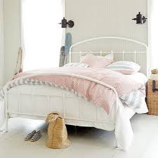Metal Bed Full by White Round Frame Metal Bed