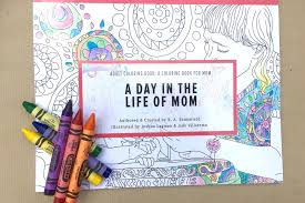 Adult Coloring Book For Mom Proves Laughter Is The Best Medicine