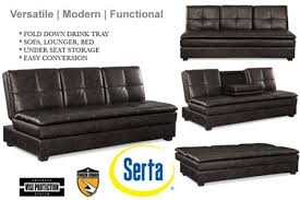 Serta Dream Convertible Sofa by Brown Leather Convertible Sofa Bed Kingsley Serta Sofa